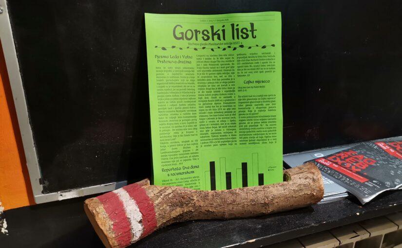 Izišao novi broj Gorskog lista – lipanj 2021.